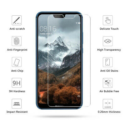 Tempered Glass Screen Protector For Huawei PSmart P10 P20 Lite Pro Honor 9 Lite  • 1.99£