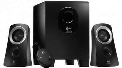 AU139.50 • Buy NEW LOGITECH 980-000414,  Z313 SPEAKERS 2.1 SYSTEM , RMS POWER: 25 WATTS,  P.a.