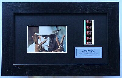James Bond 007 'LIVE AND LET DIE' Limited Edition Original Filmcell Memorabilia  • 27.50£