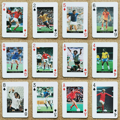 World Cup Greats Football Players Playing Card - Various Countries Teams • 4.75£