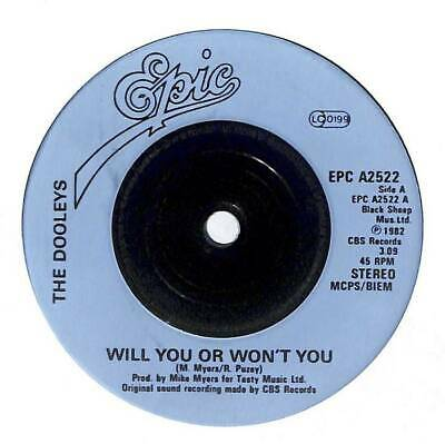 The Dooleys - Will You Or Won't You - 7  Vinyl Record Single • 3.75£