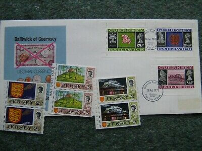 Jersey And Guernsey Booklet Stamps • 1£