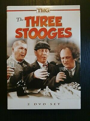The Three Stooges 2 DVD Set (10 Film Shorts From The 1930's And 1940's) • 15£