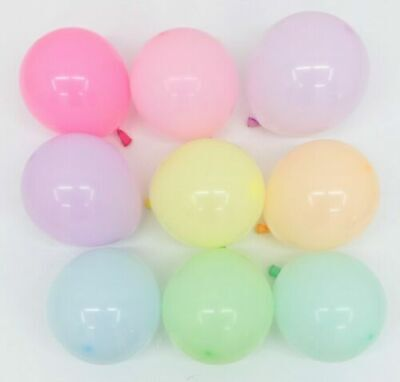 AU9.87 • Buy 5 Inch Balloons Small 100/50 PCS Pastel Latex Party Birthday Decoration
