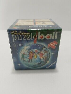 $11.99 • Buy Christmas Puzzle Ball Ravensburger 60 Pieces / 7 Cm Diameter NEW