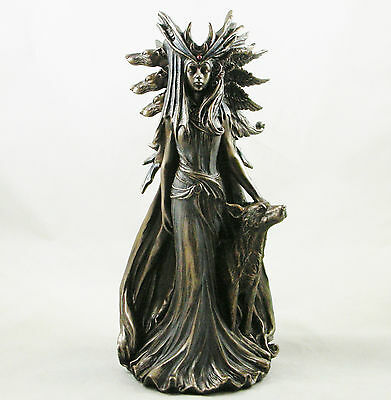 £59.99 • Buy Hekate Goddess Of Magic Figurine Greek Goddess Hecate Wiccan Statue Ornament New