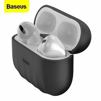$ CDN5.35 • Buy Baseus Airpods Pro Case Shockproof Cover Silicone Earphones Soft Earbuds Shell