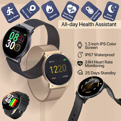 AU25.79 • Buy Waterproof Bluetooth Smart Watch Fitness Tracker For Andriod Samsung IPhone  (