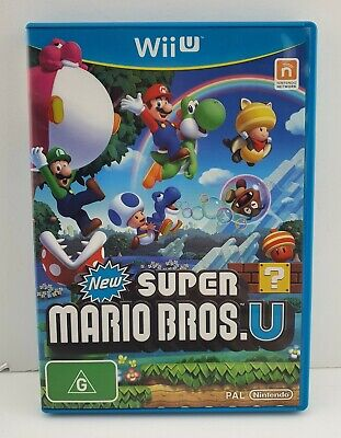 AU29 • Buy New Super Mario Bros. U Nintendo Wii U Game