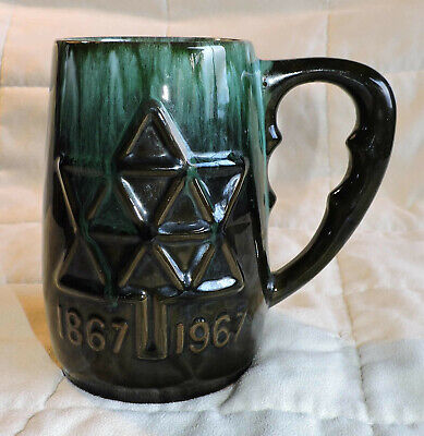 $ CDN14.99 • Buy Bmp 1967 Blue Mountain Pottery Old Mark Canada Centennial Ceramic Beer Stein