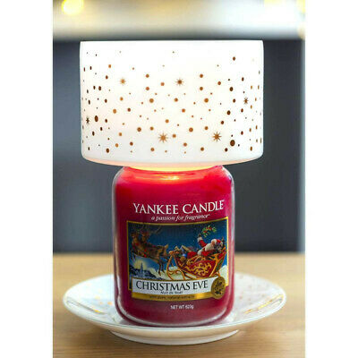 Yankee Candle Magically Christmas Shade & Tray Set, New, Candle Not Included • 13£