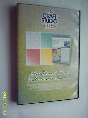 PARCHMENT LACE COLLECTION VOLUME 3 Images From Magazine-MY CRAFT STUDIO ELITE CD • 2.99£