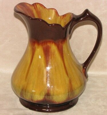 $ CDN4.99 • Buy Vintage Canadian BMP Blue Mountain Pottery Harvest Gold Large Pitcher