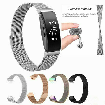 AU11.28 • Buy For  Fitbit Inspire HR/ace2 Magnetic Milanese Stainless Steel Watch Band Strap