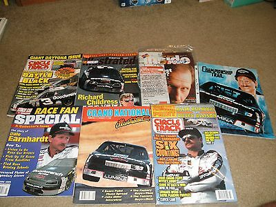 $5.19 • Buy 7 Dale Earnhardt On Cover Nascar Magazines  Circle Track Illustrated Stock Car +