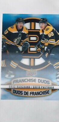 $ CDN8.50 • Buy 2019-20 Tim Hortons Hockey Card Franchise Duos D-15 Marchand / Pastrnak