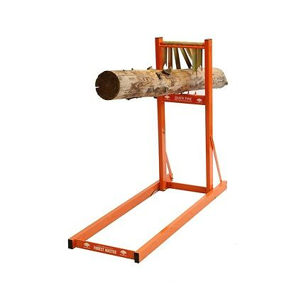 £93.90 • Buy Metal Log Saw Horse For Chainsaw Cutting Fast Wood Loading Quick Fire