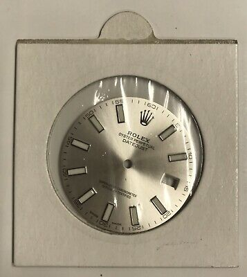 $ CDN329.55 • Buy Genuine ROLEX OYSTER PERPETUAL DATEJUST Silver Dial Brand New