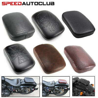 $12.95 • Buy Motorcycle Rear Fender Passenger Pillion Pad Seat 8 / 6 Suction Cups For Harley