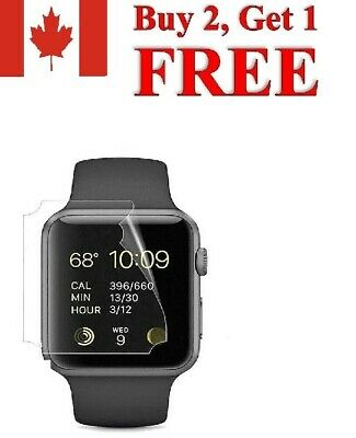 $ CDN3.99 • Buy Apple Watch  Protector Screen Series 1 2 3 4 5 Cover Premium Glass Film