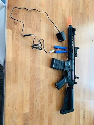 $230 • Buy .all Black Tactical M4 AIRSOFT Gun.Battery Pack Included Laser Sight Included.