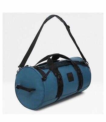 The North Face Base Camp EXPLORE X-DUFFEL Bag Luggage-BLUE CORAL & TNF BLACK • 99.99£