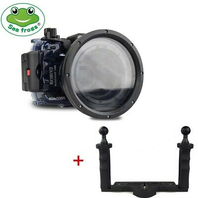Seafrogs 60m Underwater Camera Housing For Sony RX100 VI Mark 6 With Diving Tray • 239£