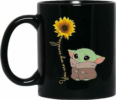 $12.99 • Buy Cute Baby Yoda You Are My Sunshine Funny Gift Valentine Gift Coffee Mug