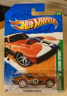 $30 • Buy Hot Wheels Super Treasure Hunt CORVETTE GRAND SPORT