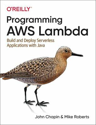 Programming AWS Lambda Build And Deploy Serverless Applications... 9781492041054 • 31.85£