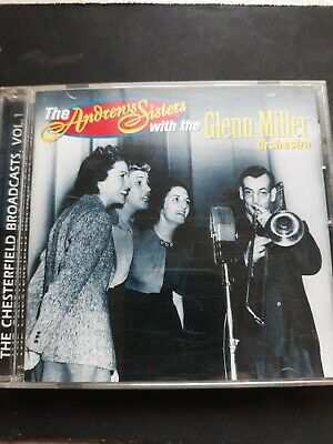 $0.99 • Buy The Chesterfield Broadcasts, Vol. 1 By The Andrews Sisters (CD, Feb-1998, RCA)