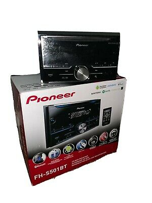 $0.99 • Buy PIONEER CD RDS RECEIVER W/ Bluetooth,USB, AUX DOUBLE DIN Fh-s501bt
