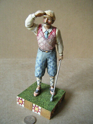 Superb Heartwood Creek, Enesco  GOLFER  Figurine. JIm Shore Designs 2005. No Box • 14.99£