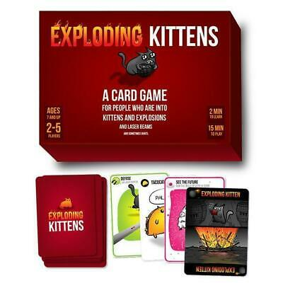AU48.95 • Buy Exploding Kittens Adult Party Card Game