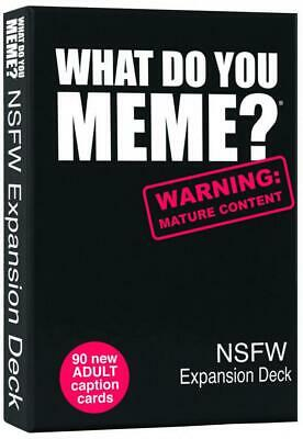 AU24.95 • Buy What Do You Meme Nsfw Expansion Deck