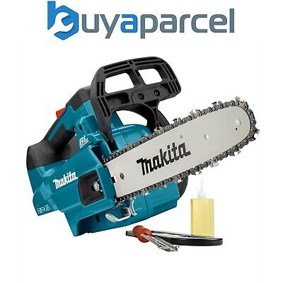 View Details Makita DUC306Z Twin 18v / 36v LXT Cordless Lithium Ion Chainsaw 300mm Bare Unit • 240.55£