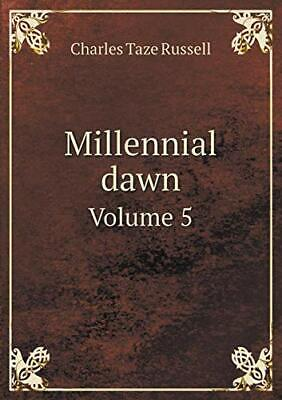 $56.30 • Buy Millennial Dawn Volume 5, Russell, Taze New 9785519126687 Fast Free Shipping,,
