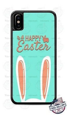 Happy Easter Bunny Ears Design Phone Case For IPhone 11Pro Samsung LG Google • 14.10£