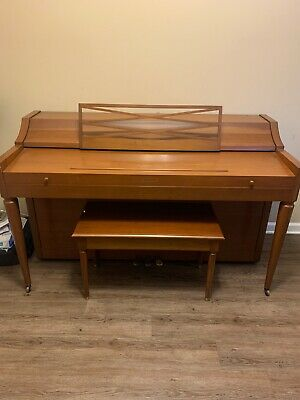$260 • Buy Nice Brown Hardwood Upright Piano