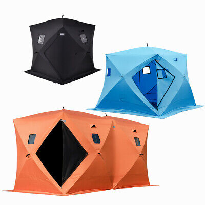 2/4/8 Person Pop-up Camping Hiking Shelters Tent Portable Night Fishing Tent  • 99.99£