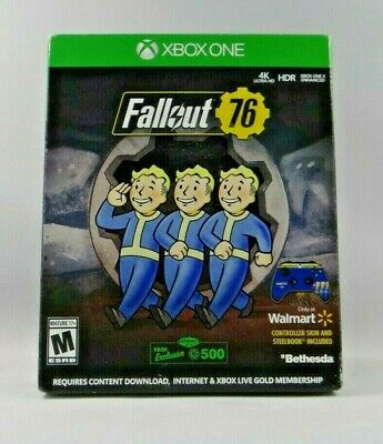 $12.99 • Buy Fallout 76 Walmart Exclusive Controller Skin & Steelbook (Xbox One)