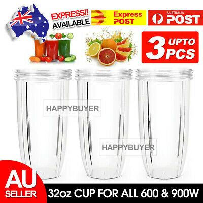 AU18.95 • Buy 32oz COLOSSAL CUP LARGE TALL For NUTRIBULLET Nutri Bullet 600 900w Blender Model