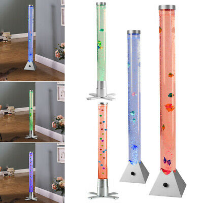 60-120cm Bubble Fish Tank Lamp LED Light With Colour Changing Remote Control • 26.95£