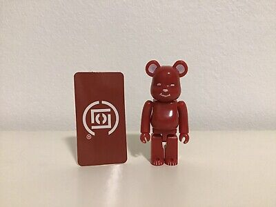 $60 • Buy Bearbrick Clot 100% Red & Black With Cards. Condition Opened