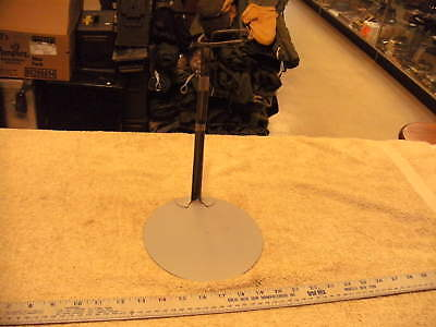 Vintage Large Metal Doll Stand, Grey Metal, Adjustable Height  • 7.65£