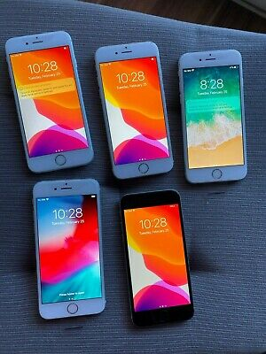 $ CDN999 • Buy Lot Of 5 Apple IPhone 6s - 64GB - (Unlocked) - 3 Silver, 1 Space Grey, 1 Gold