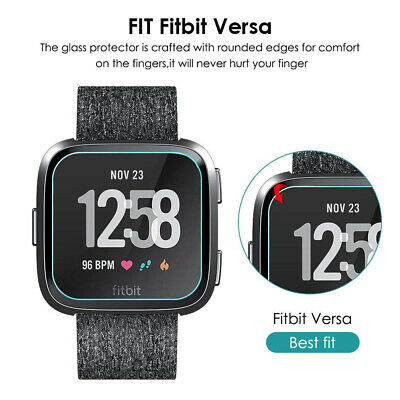 $ CDN5.83 • Buy 2pc For Fitbit Versa Smart Watch Full Cover Tempered Glass Film Screen Protector