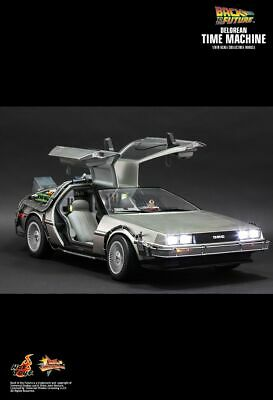 AU2199.99 • Buy BACK TO THE FUTURE - Delorean 1/6th Scale Action Figure MMS260 (Hot Toys)