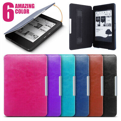 For Amazon Kindle Paperwhite 1 2 3 4 2018 Slim Magnetic Smart Leather Case Cover • 4.79£