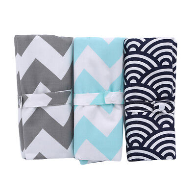 AU7.91 • Buy Accessories Kid Supplies Baby-Changing Pad Clouds And Waves Travel Outdoor YO